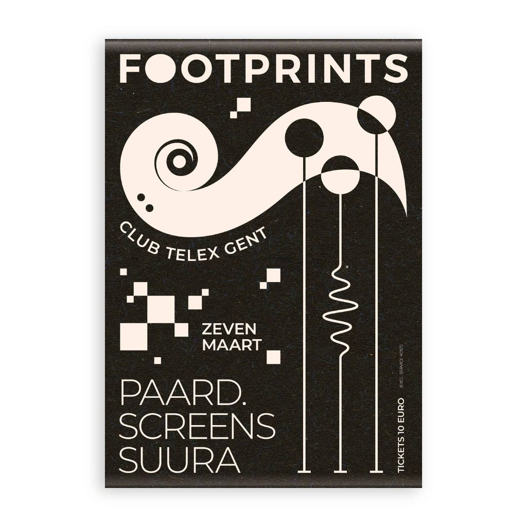 Footprints with PAARD, Screens, Suura